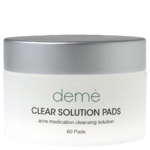 clear solution pads